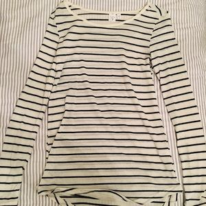 BP Nordstrom soft striped long sleeve